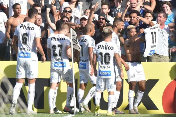 Santos 4 x 0 Flamengo 2019