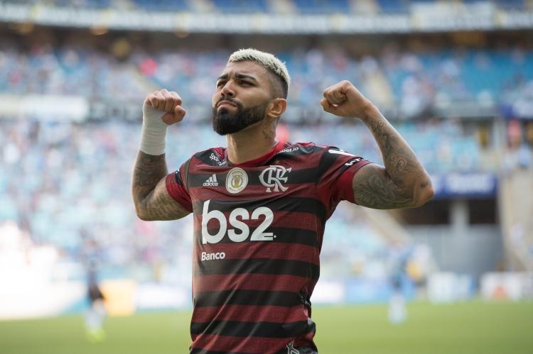 Gabigol, artilheiro do Brasileirão 2019 pelo Flamengo