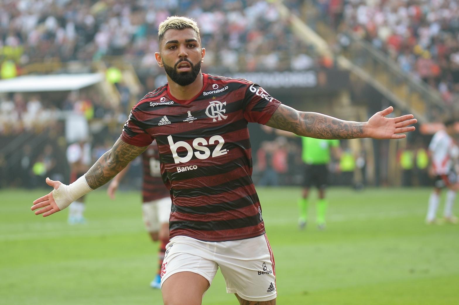Gabigol, artilheiro da Libertadores de 2019 pelo Flamengo