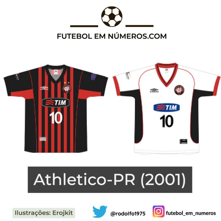 Camisas do Athletico-PR de 2001