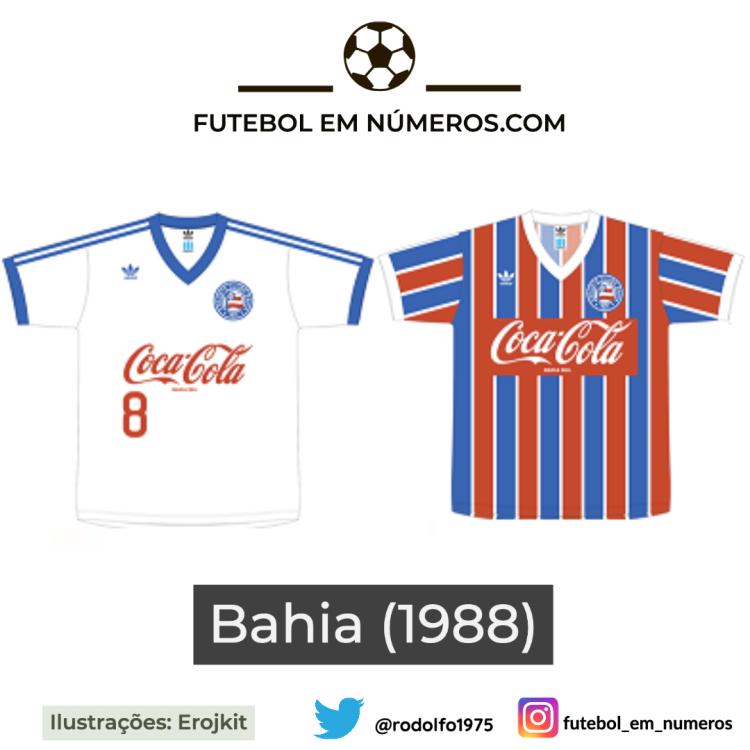 Camisas do Bahia de 1988