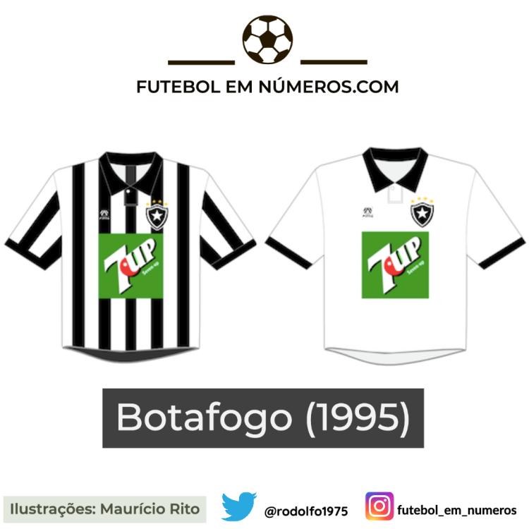 Camisas do Botafogo de 1995