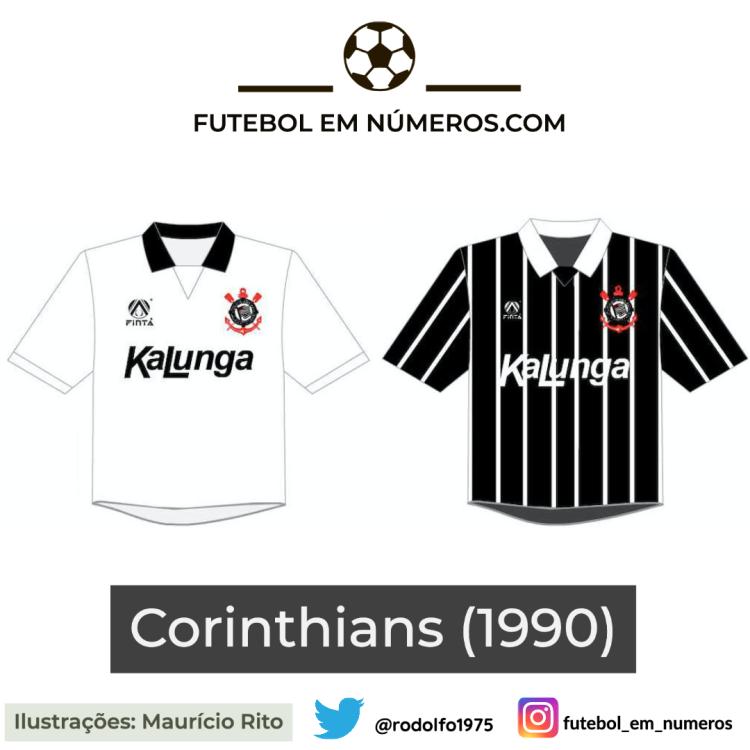 Camisas do Corinthians de 1990