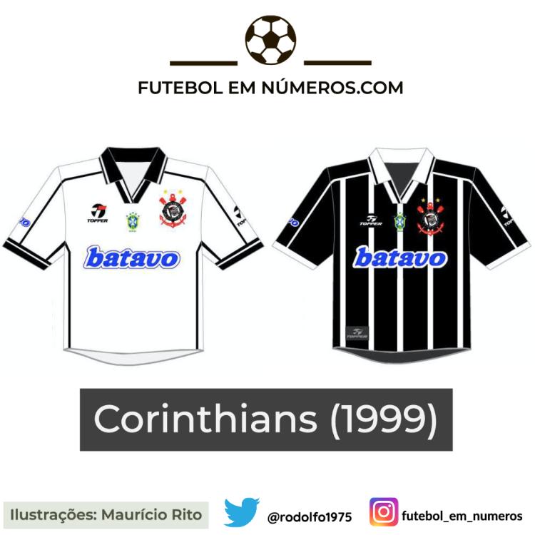 Camisas do Corinthians de 1999