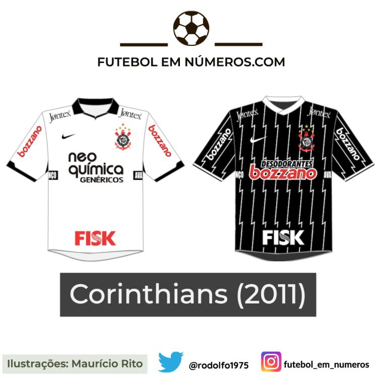 Camisas do Corinthians de 2011