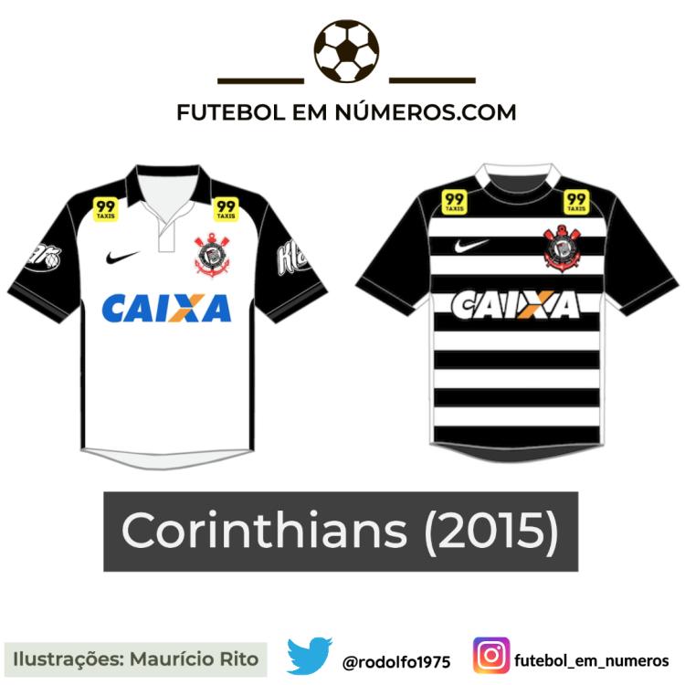 Camisas do Corinthians de 2015