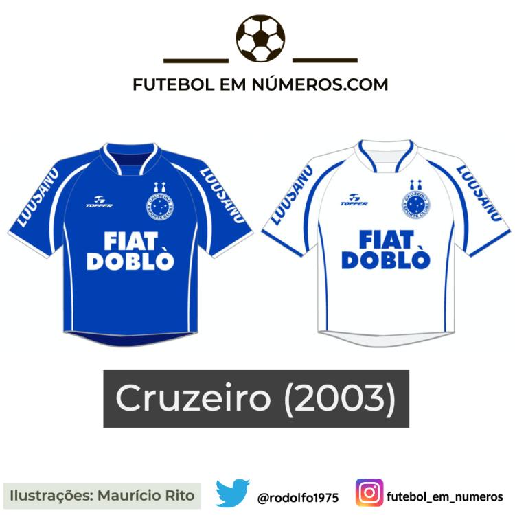 Camisas do Cruzeiro de 2003
