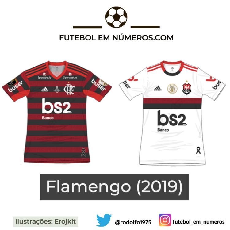 Camisas do Flamengo de 2019