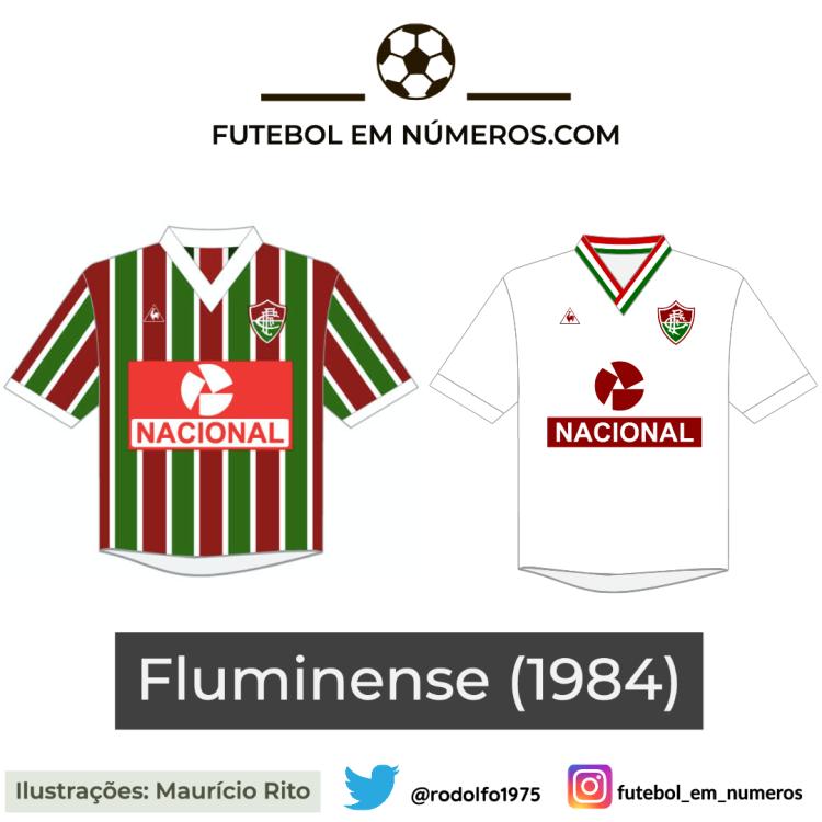 Camisas do Fluminense de 1984