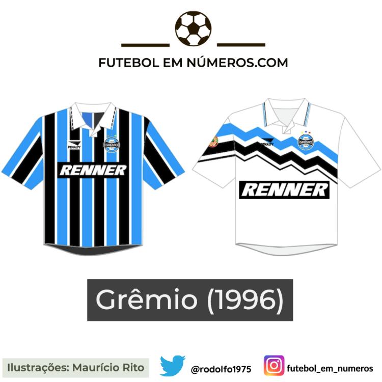 Camisas do Fluminense de 1996