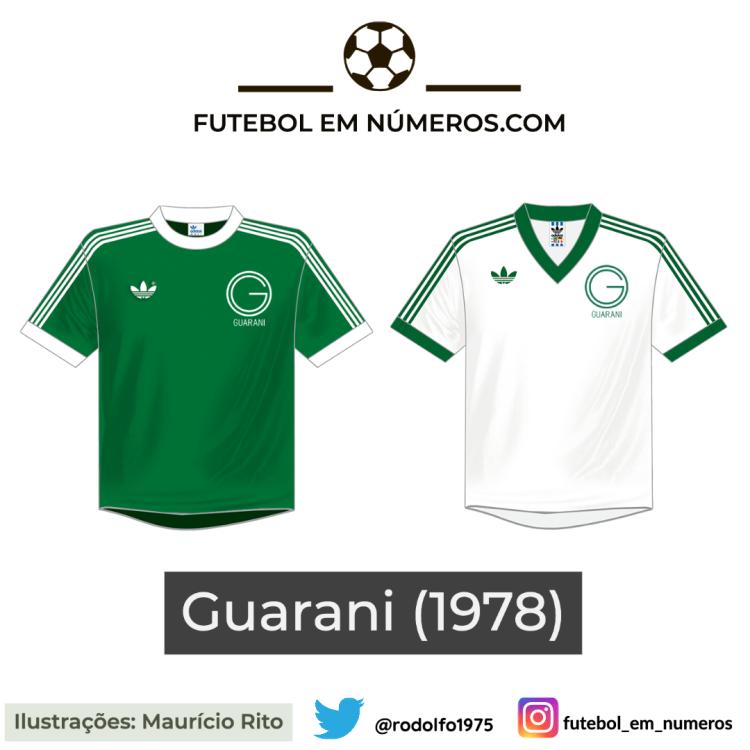 Camisas do Guarani de 1978