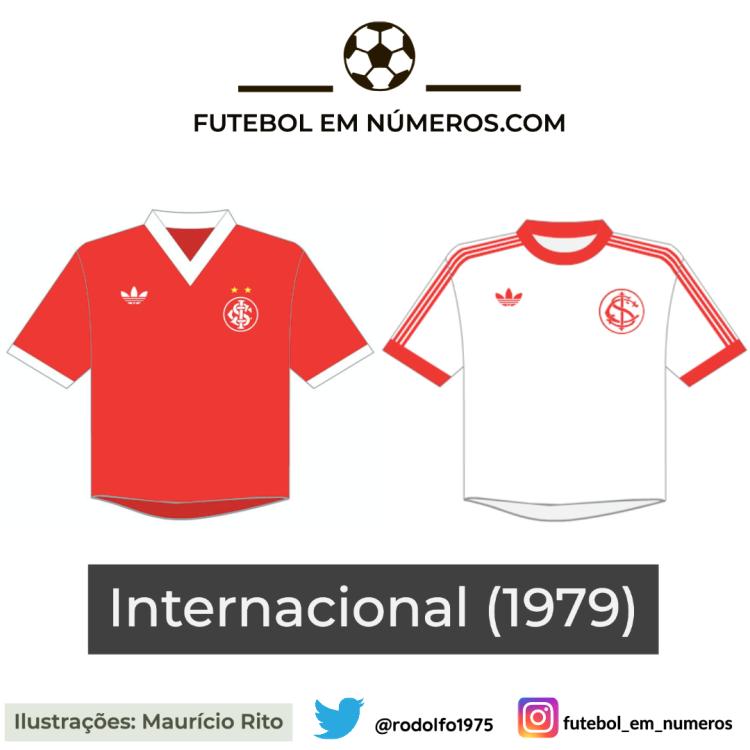 Camisas do Internacional de 1979