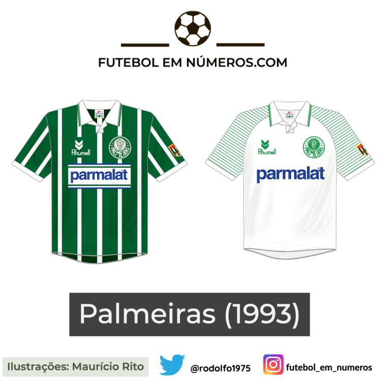 Camisas do Palmeiras de 1993
