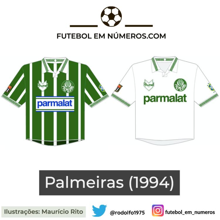 Camisas do Palmeiras de 1994
