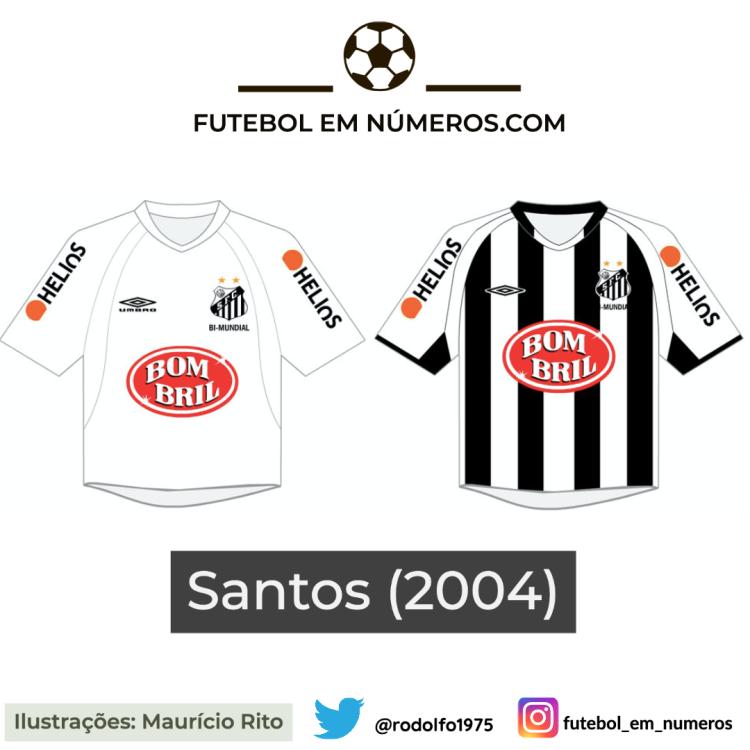 Camisas do Santos de 2004