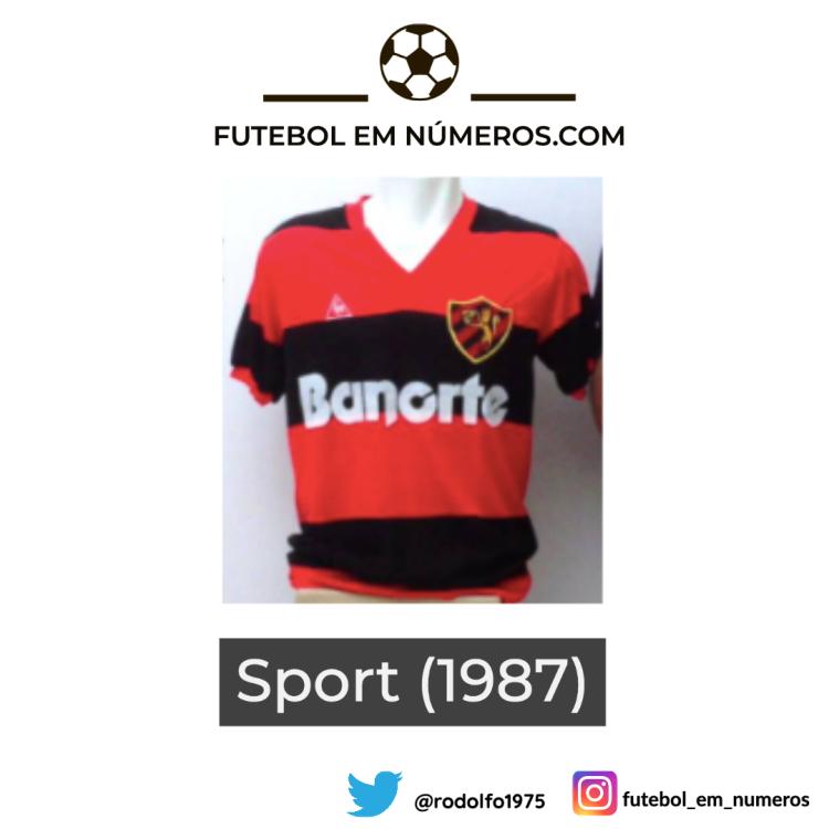 Camisa do Sport de 1987