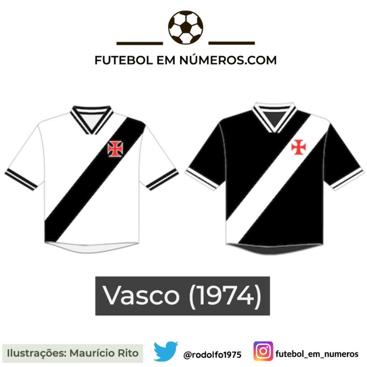 Camisas do Vasco de 1974