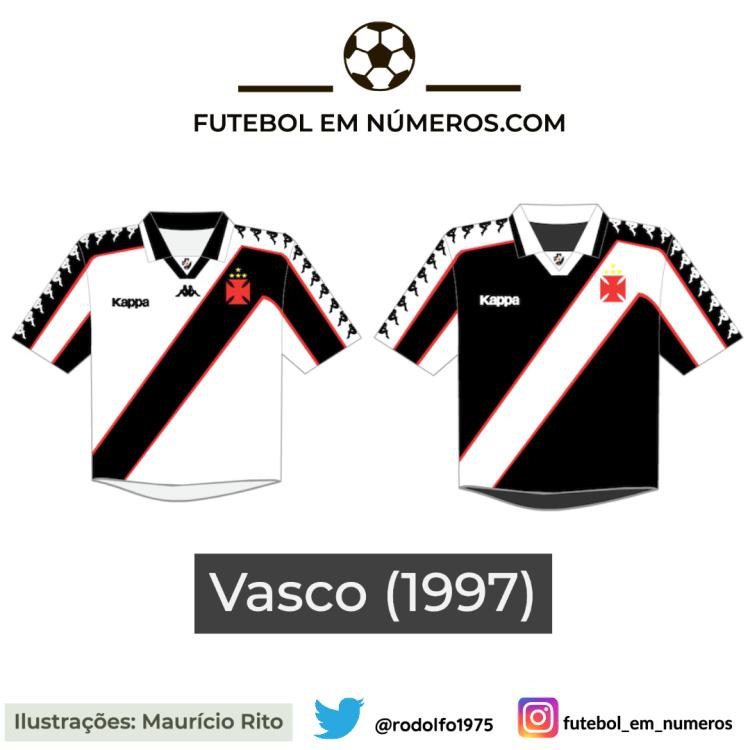 Camisas do Vasco de 1997