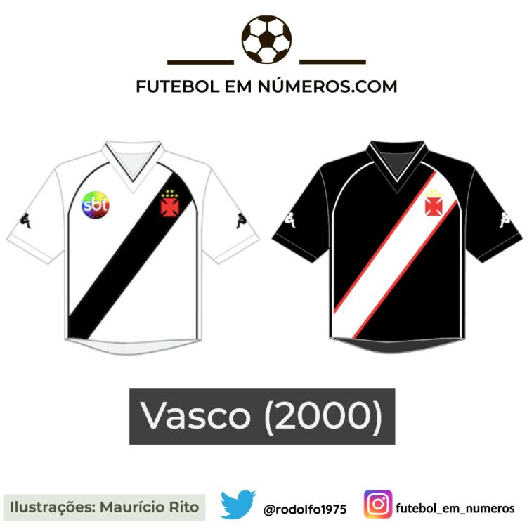Camisas do Vasco de 2000